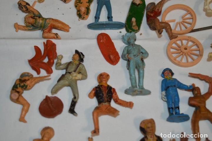Figuras de Goma y PVC: OESTE - Yankee, vaqueros indios y caballos / Plástico/PVC - COMANSI, OLIVER, PUIG, PECH, JECSAN ... - Foto 11 - 212688550