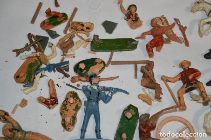 Figuras de Goma y PVC: OESTE - Yankee, vaqueros indios y caballos / Plástico/PVC - COMANSI, OLIVER, PUIG, PECH, JECSAN ... - Foto 13 - 212688550