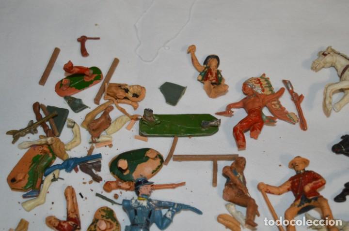 Figuras de Goma y PVC: OESTE - Yankee, vaqueros indios y caballos / Plástico/PVC - COMANSI, OLIVER, PUIG, PECH, JECSAN ... - Foto 14 - 212688550
