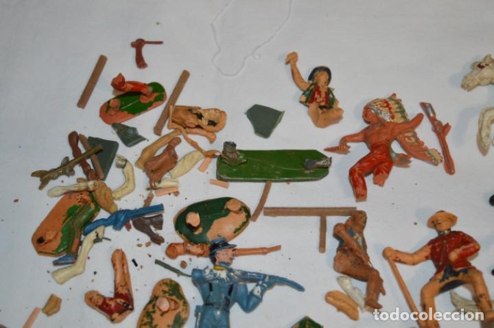 Figuras de Goma y PVC: OESTE - Yankee, vaqueros indios y caballos / Plástico/PVC - COMANSI, OLIVER, PUIG, PECH, JECSAN ... - Foto 15 - 212688550