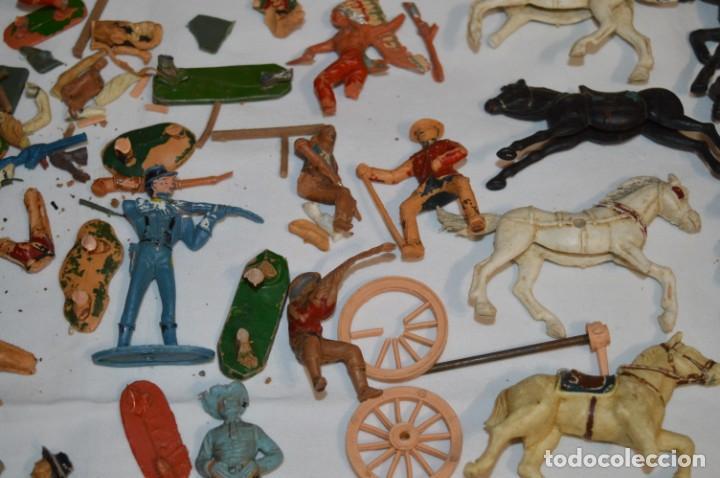 Figuras de Goma y PVC: OESTE - Yankee, vaqueros indios y caballos / Plástico/PVC - COMANSI, OLIVER, PUIG, PECH, JECSAN ... - Foto 17 - 212688550