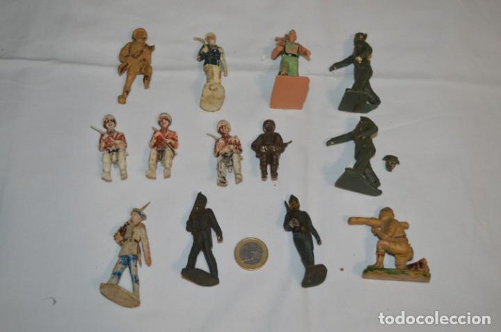 MILITARES / SOLDADOS / PLÁSTICO/PVC Y GOMA - COMANSI, OLIVER, PUIG, PECH, JECSAN ... ¡MIRA! (Juguetes - Figuras de Goma y Pvc - Otras)