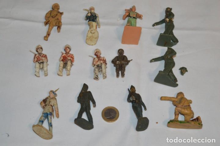 Figuras de Goma y PVC: Militares / soldados / Plástico/PVC y goma - COMANSI, OLIVER, PUIG, PECH, JECSAN ... ¡Mira! - Foto 2 - 212692435