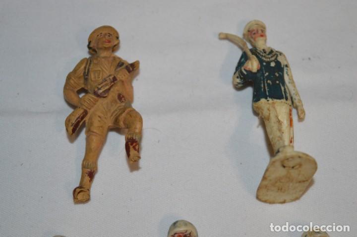 Figuras de Goma y PVC: Militares / soldados / Plástico/PVC y goma - COMANSI, OLIVER, PUIG, PECH, JECSAN ... ¡Mira! - Foto 3 - 212692435