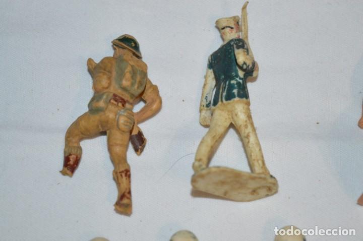Figuras de Goma y PVC: Militares / soldados / Plástico/PVC y goma - COMANSI, OLIVER, PUIG, PECH, JECSAN ... ¡Mira! - Foto 4 - 212692435