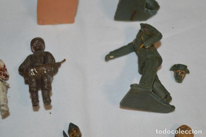 Figuras de Goma y PVC: Militares / soldados / Plástico/PVC y goma - COMANSI, OLIVER, PUIG, PECH, JECSAN ... ¡Mira! - Foto 9 - 212692435