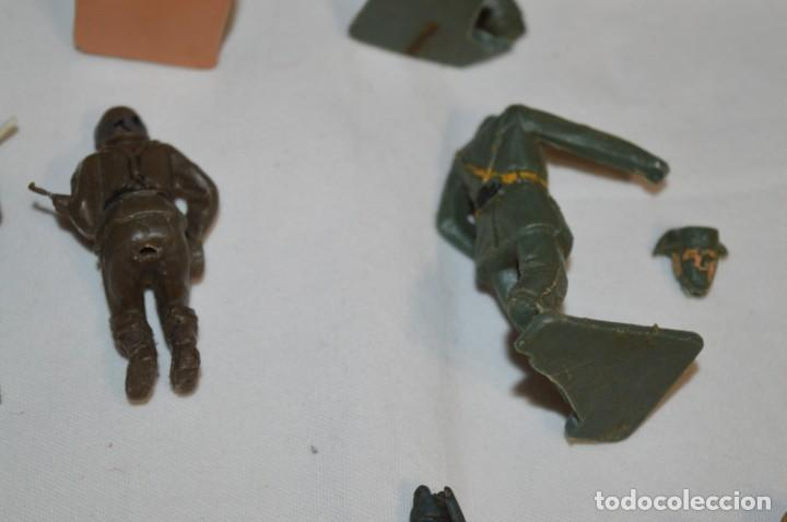 Figuras de Goma y PVC: Militares / soldados / Plástico/PVC y goma - COMANSI, OLIVER, PUIG, PECH, JECSAN ... ¡Mira! - Foto 10 - 212692435