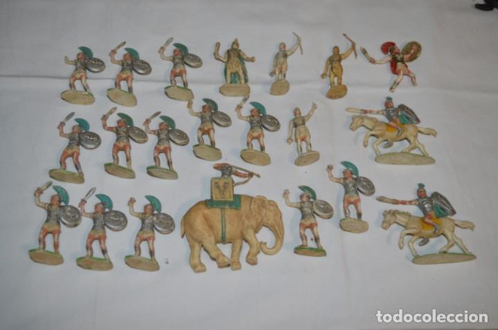 LOTAZO CARTAGINESES Y ROMANOS / PLÁSTICO/PVC - COMANSI, OLIVER, PUIG, PECH, JECSAN, OTRAS ... ¡MIRA! (Juguetes - Figuras de Goma y Pvc - Otras)