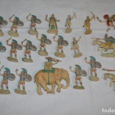 Figuras de Goma y PVC: LOTAZO CARTAGINESES Y ROMANOS / PLÁSTICO/PVC - COMANSI, OLIVER, PUIG, PECH, JECSAN, OTRAS ... ¡MIRA!. Lote 212693621