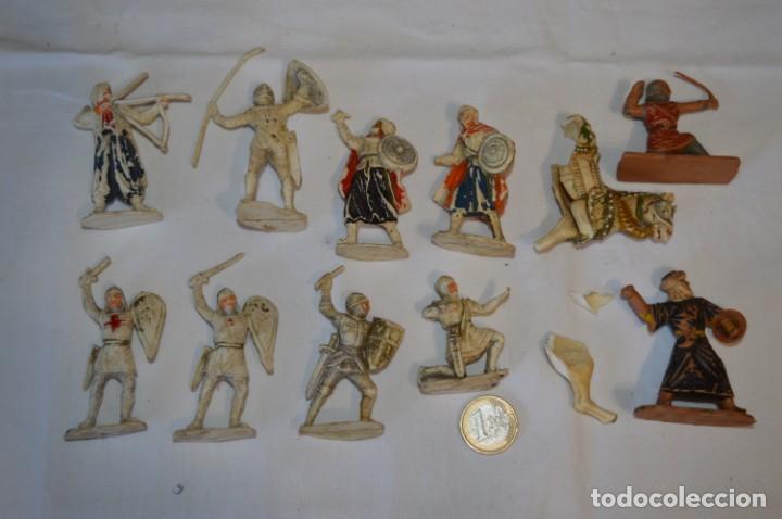 CRUZADOS Y OTROS / PLÁSTICO/PVC - COMANSI, OLIVER, PUIG, PECH, JECSAN, OTRAS ... ¡MIRA FOTOS! (Juguetes - Figuras de Goma y Pvc - Otras)