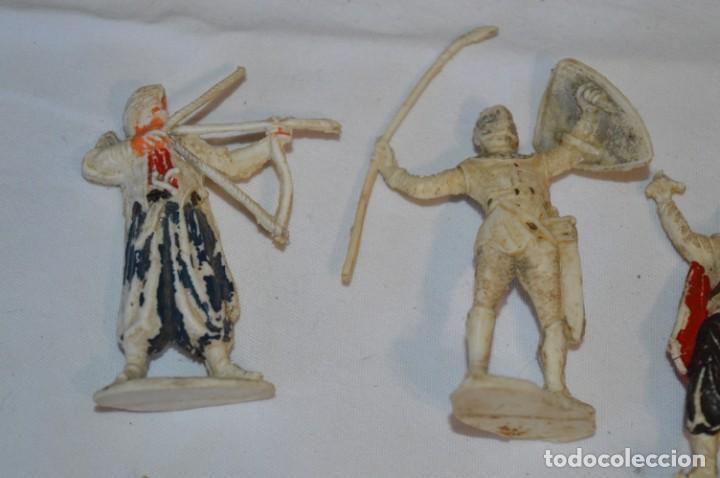 Figuras de Goma y PVC: CRUZADOS y OTROS / Plástico/PVC - COMANSI, OLIVER, PUIG, PECH, JECSAN, otras ... ¡Mira fotos! - Foto 3 - 212712613