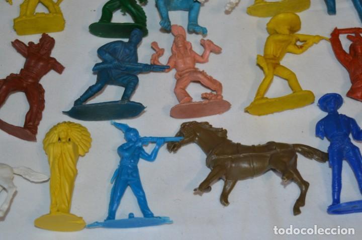 Figuras de Goma y PVC: INDIOS y VAQUEROS, 75 piezas / Plástico/PVC - COMANSI, OLIVER, PUIG, PECH, JECSAN, otras ... ¡Mira! - Foto 15 - 212714138
