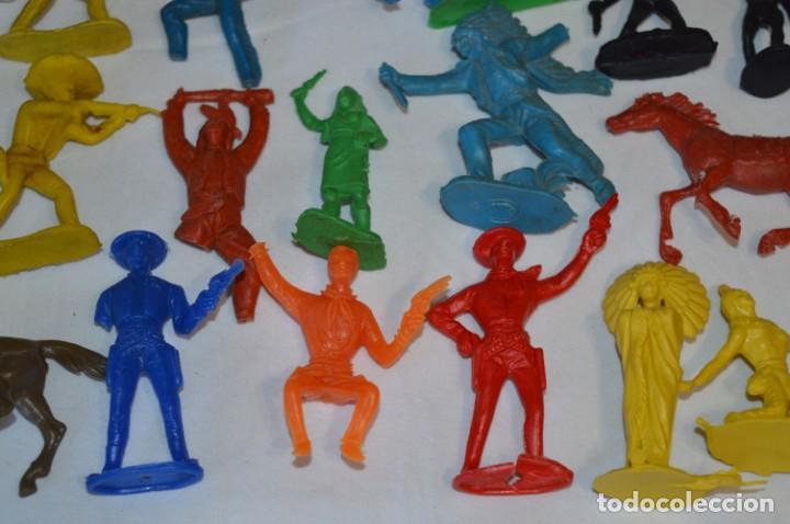 Figuras de Goma y PVC: INDIOS y VAQUEROS, 75 piezas / Plástico/PVC - COMANSI, OLIVER, PUIG, PECH, JECSAN, otras ... ¡Mira! - Foto 16 - 212714138