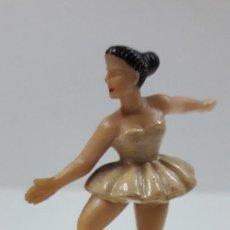 Figurines en Caoutchouc et PVC: BAILARINA DE BALLET . REALIZADA POR M. SOTORRES . ORIGINAL AÑOS 60 EN BAQUELITA. Lote 212724418
