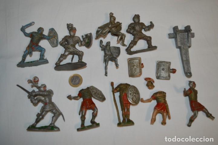 MEDIEVALES Y ROMANOS / PLÁSTICO/PVC - COMANSI, OLIVER, PUIG, PECH, JECSAN, OTRAS ... ¡MIRA! (Juguetes - Figuras de Goma y Pvc - Otras)