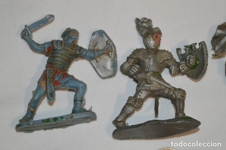Figuras de Goma y PVC: MEDIEVALES y ROMANOS / Plástico/PVC - COMANSI, OLIVER, PUIG, PECH, JECSAN, otras ... ¡Mira! - Foto 2 - 212764420
