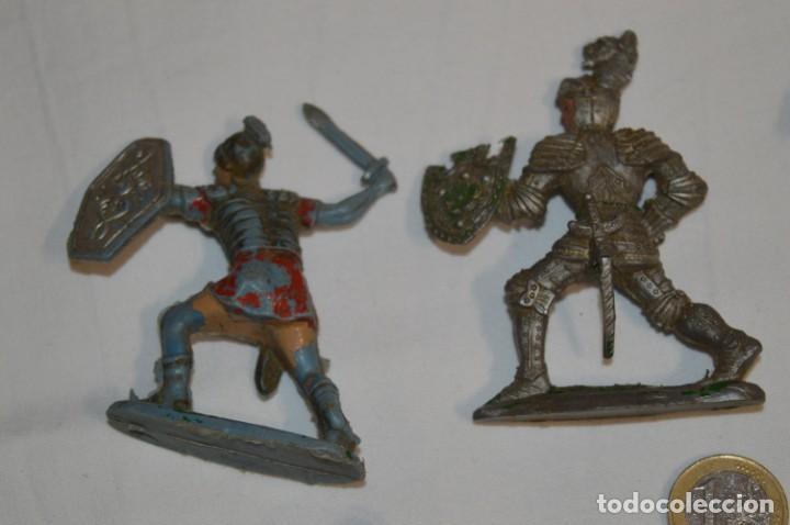 Figuras de Goma y PVC: MEDIEVALES y ROMANOS / Plástico/PVC - COMANSI, OLIVER, PUIG, PECH, JECSAN, otras ... ¡Mira! - Foto 3 - 212764420