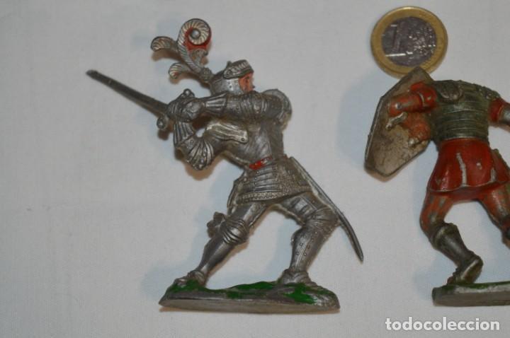 Figuras de Goma y PVC: MEDIEVALES y ROMANOS / Plástico/PVC - COMANSI, OLIVER, PUIG, PECH, JECSAN, otras ... ¡Mira! - Foto 12 - 212764420