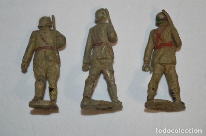 Figuras de Goma y PVC: SOLDADOS / MILITARES / En GOMA - COMANSI, OLIVER, PUIG, PECH, JECSAN, otras ... ¡Mira! - Foto 3 - 212765980