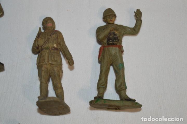 Figuras de Goma y PVC: SOLDADOS / MILITARES / En GOMA - COMANSI, OLIVER, PUIG, PECH, JECSAN, otras ... ¡Mira! - Foto 4 - 212765980