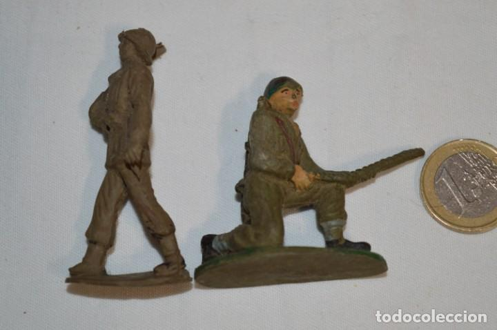 Figuras de Goma y PVC: SOLDADOS / MILITARES / En GOMA - COMANSI, OLIVER, PUIG, PECH, JECSAN, otras ... ¡Mira! - Foto 8 - 212765980