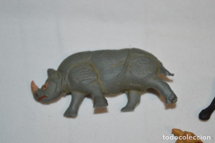 Figuras de Goma y PVC: CAZADOR y ANIMALES FIERAS / En GOMA - Teixido, Oliver, Puig, Pech, Jecsan, otras ... ¡Mira fotos! - Foto 5 - 212767993