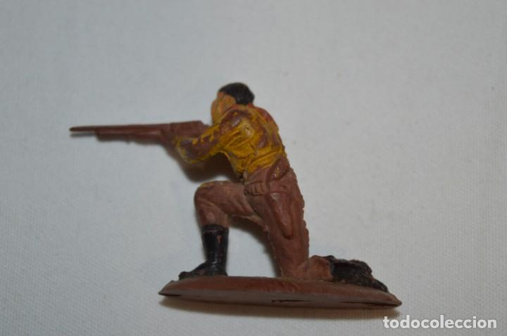 Figuras de Goma y PVC: JEFE INDIO y VAQUEROS / En GOMA - Teixido, Oliver, Puig, Pech, Jecsan, otras ... ¡Mira fotos! - Foto 7 - 212768807