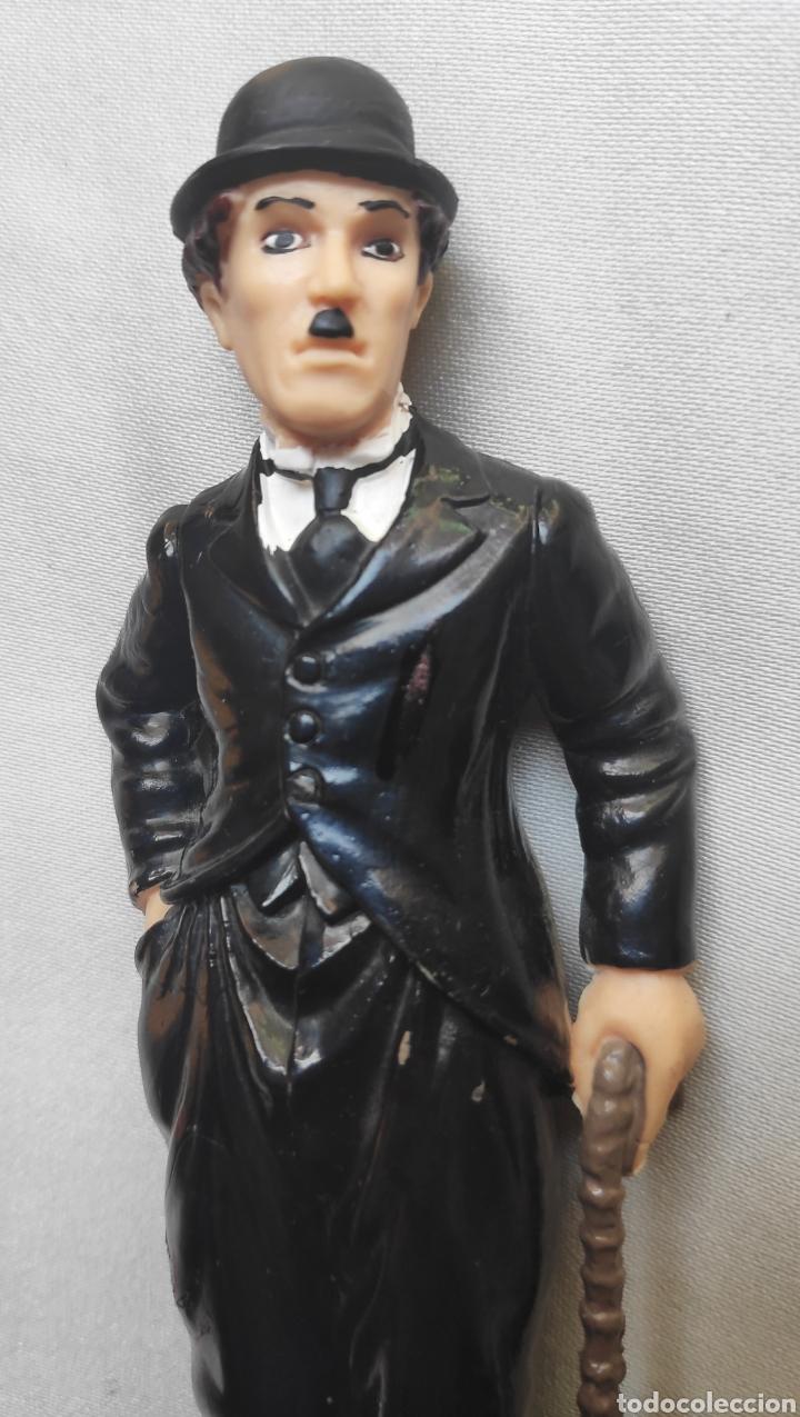 Figuras de Goma y PVC: CHARLOT CHARLES CHAPLIN FIGURA PVC COMICS SPAIN - Foto 2 - 212776040