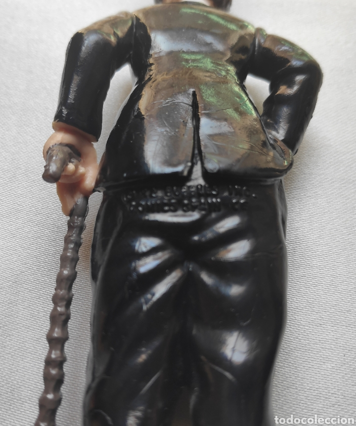 Figuras de Goma y PVC: CHARLOT CHARLES CHAPLIN FIGURA PVC COMICS SPAIN - Foto 5 - 212776040