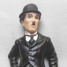 Figuras de Goma y PVC: CHARLOT CHARLES CHAPLIN FIGURA PVC COMICS SPAIN. Lote 212776040