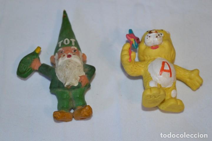 Figuras de Goma y PVC: Lote de 15 figuras variadas, de GOMA / Diferentes personajes y marcas ¡Mira fotos y detalles! - Foto 6 - 212785710