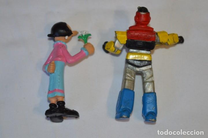 Figuras de Goma y PVC: Lote de 15 figuras variadas, de GOMA / Diferentes personajes y marcas ¡Mira fotos y detalles! - Foto 15 - 212785710