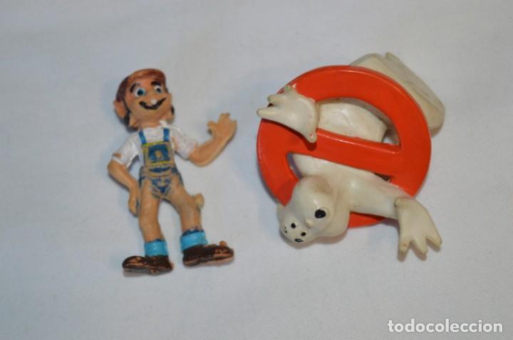 Figuras de Goma y PVC: Lote de 15 figuras variadas, de GOMA / Diferentes personajes y marcas ¡Mira fotos y detalles! - Foto 18 - 212785710