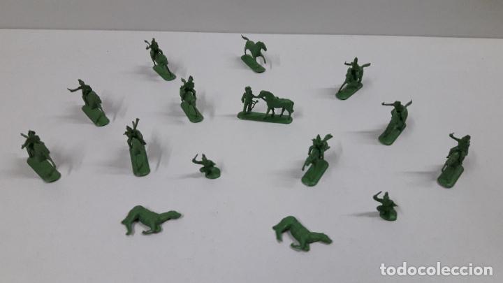 Figuras de Goma y PVC: LOTE DE SOLDADITOS MONTAPLEX - CABALLERIA DE NAPOLEON . AÑOS 70 / 80 - Foto 3 - 212827077