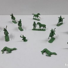 Figuras de Goma y PVC: LOTE DE SOLDADITOS MONTAPLEX - CABALLERIA DE NAPOLEON . AÑOS 70 / 80. Lote 212827077
