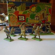 Figuras de Borracha e PVC: INFANTERÍA JAPONESA, BRITAINS DEETAIL, 2ª GUERRA MUNDIAL + MORTERO / BRITAINS / JAPONESES. Lote 212828650