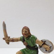 Figuras de Borracha e PVC: VIKINGO . REALIZADO POR JECSAN . SERIE VIKINGOS . ORIGINAL AÑOS 50 EN GOMA. Lote 212829781