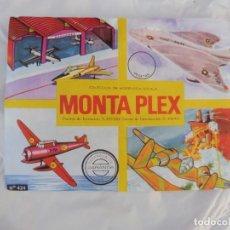 Figuras de Goma y PVC: MONTAPLEX SOBRE SIN ABRIR AVIONES Y HANGAR Nº 424. Lote 212875496