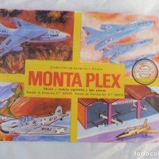 Figuras de Goma y PVC: MONTAPLEX SOBRE SIN ABRIR AVIONES Y HANGAR Nº 425. Lote 212875520