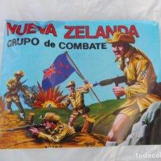 Figurines en Caoutchouc et PVC: MONTAPLEX SOBRE SIN ABRIR NUEVA ZELANDA GRUPO DE COMBATE Nº 160. Lote 212875803