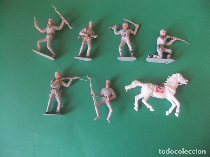 LOTE DE SUDISTAS NO SE MARCA MIRAR FOTOS (Juguetes - Figuras de Goma y Pvc - Reamsa y Gomarsa)