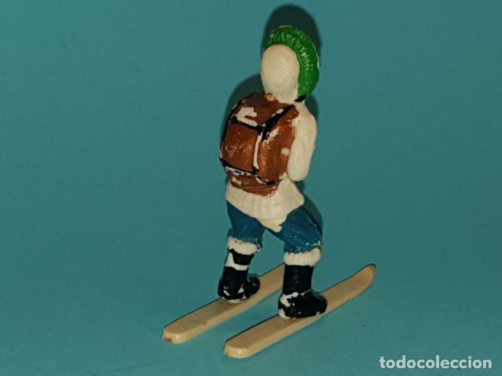 Figuras de Goma y PVC: ESQUIMAL de SOTORRES, en plástico, AÑOS 50. - Foto 2 - 212995990