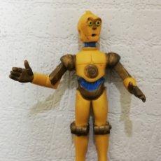 Figurines en Caoutchouc et PVC: FIGURA PVC C-3PO C3PO COMICS SPAIN STAR WARS DROIDS & EWOKS MUY BUEN ESTADO POCAS FALTAS DE DORADO. Lote 213012786