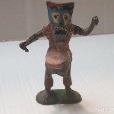 Figuras de Goma y PVC: FIGURA HECHICERO EN GOMA DE GAMA DIFICILISIMA. Lote 213099710