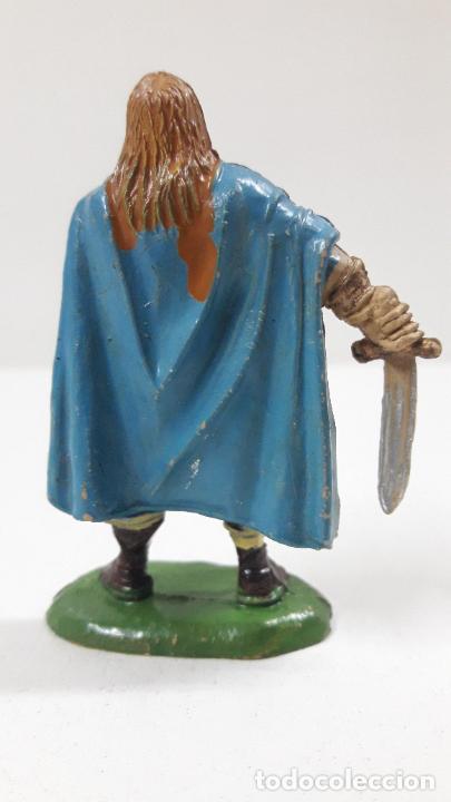 Figuras de Goma y PVC: VIKINGO . REALIZADO POR JECSAN . SERIE VIKINGOS . ORIGINAL AÑOS 50 EN GOMA - Foto 2 - 213211078