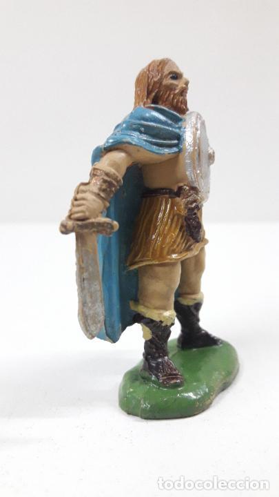 Figuras de Goma y PVC: VIKINGO . REALIZADO POR JECSAN . SERIE VIKINGOS . ORIGINAL AÑOS 50 EN GOMA - Foto 4 - 213211078