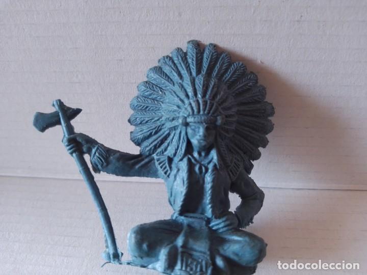 Figuras de Goma y PVC: Antiguo indio plástico no se marca jecsan gomarsa reamsa Lafredo pech comansi??? - Foto 4 - 213225487