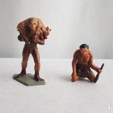 Figuras de Goma y PVC: LOTE FIGURAS PREHISTORICOS - FIGURINES PREHISTORIQUES. STARLUX. Lote 213310956