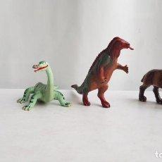 Figuras de Goma y PVC: LOTE ANIMALES PREHISTORICOS. STARLUX. Lote 213329547