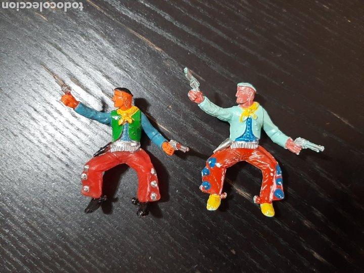 Figuras de Goma y PVC: LOTE DE 53 PISTOLEROS O COWBOY ,COMANSI,SOTORRES,PECH,JECSAN,LAFREDO-PINTADOS A MANO - Foto 3 - 213408567